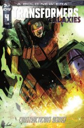IDW Publishing's Transformers: Galaxies Issue # 4