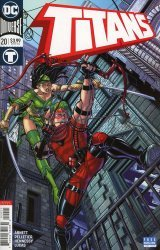 DC Comics's Titans Issue # 20b