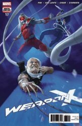 Marvel Comics's Weapon X Issue # 18
