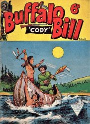 L. Miller & Son's Buffalo Bill Cody Issue # 8