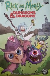 IDW Publishing's Rick and Morty vs Dungeons & Dragons Issue # 1newbury