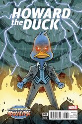 Marvel's Howard the Duck Issue # 7b