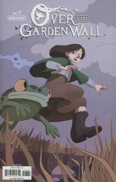 s over the garden wall issue 7b - Over The Garden Wall Comic