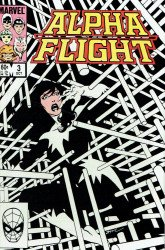 Marvel Comics's Alpha Flight Issue # 3