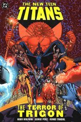 DC Comics's The New Teen Titans: The Terror of Trigon TPB # 1