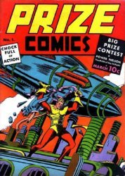 Feature Publications's Prize Comics Issue # 1