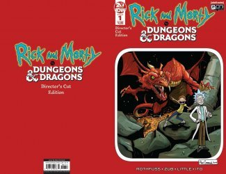 Oni Press's Rick and Morty vs Dungeons & Dragons - Director's Cut Issue # 1