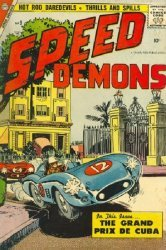 Charlton Comics's Speed Demons Issue # 9
