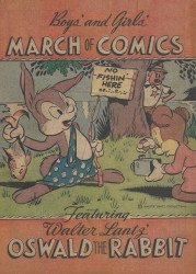 Western Printing Co.'s March of Comics Issue # 7