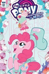 IDW Publishing's My Little Pony: Friendship is Magic Issue # 51ri