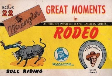 American Comics Group's Wrangler: Great Moments in Rodeo Issue # 22