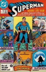 DC Comics's Superman Issue # 423
