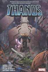 Marvel Comics's Thanos by Donny Cates Hard Cover # 1