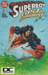 DC Comics's Superboy Issue # 32b