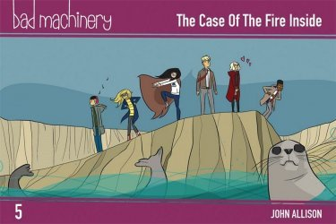 Oni Press's Bad Machinery Soft Cover # 5b