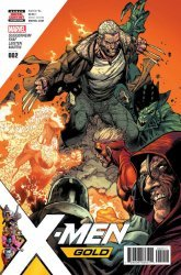 Marvel Comics's X-Men Gold Issue # 2