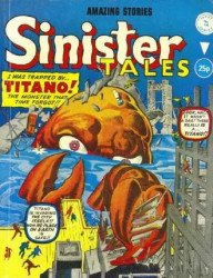 Alan Class & Company's Sinister Tales Issue # 196