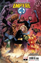 Marvel Comics's Empyre: Fantastic Four Issue # 0