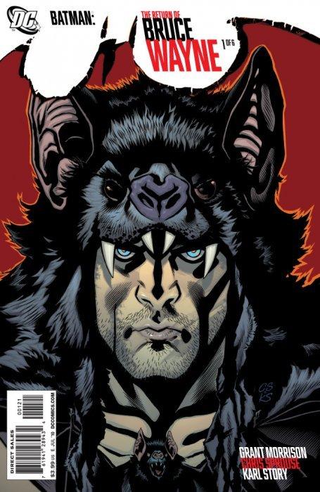 Batman the Return of Bruce Wayne 2010 series # 1 very fine comic book