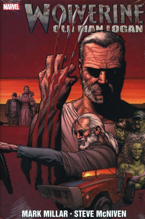 Wolverine Old Man Logan NEW Hardcover Marvel Graphic Novel Comic Book