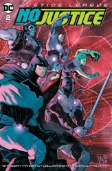 DC Comics's Justice League: No Justice Issue # 2