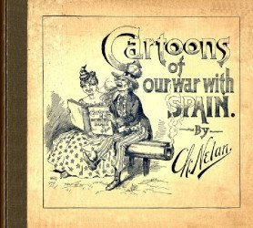 Frederick A. Stokes's Cartoons of Our War with Spain Hard Cover # 1