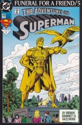 DC Comics's Adventures of Superman Issue # 499-2nd print