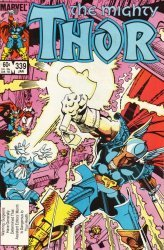 Marvel Comics's Thor (The Mighty) Issue # 339
