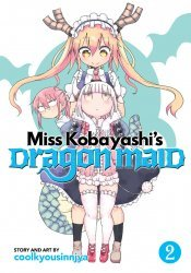 Seven Seas Entertainment's Miss Kobayashi's Dragon Maid Soft Cover # 2