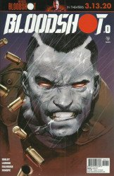 Valiant Entertainment's Bloodshot Issue # 0
