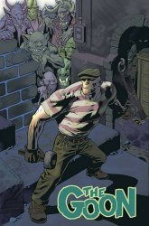 Albatross Exploding Funny Book's The Goon Issue # 1b