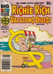 Harvey Publications's Richie Rich: Vacations Digest Issue # 8