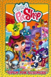 IDW Publishing's Littlest Pet Shop Hard Cover # 1