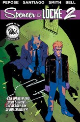 Action Lab Entertainment's Spencer & Locke TPB # 2