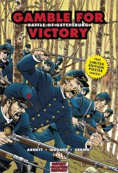 Osprey Publishing's Graphic History: Gamble for Victory - Battle of Gettysburg Soft Cover # 1