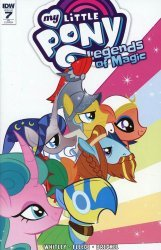 IDW Publishing's My Little Pony: Legends of Magic Issue # 7ri
