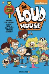 Papercutz's Loud House: 3-in-1 Soft Cover # 3