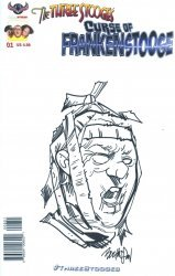 American Mythology's The Three Stooges: The Curse Of Frankenstooge Issue # 1f
