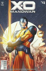 Valiant Entertainment's X-O Manowar Issue # 4b