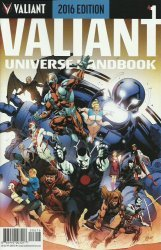 Valiant Entertainment's Valiant Universe Handbook Issue # 1