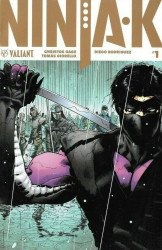 Valiant Entertainment's Ninja-K Issue # 1g