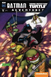 IDW Publishing's Batman / Teenage Mutant Ninja Turtles Adventures Issue # 1zing eb