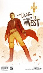 BOOM! Studios's Firefly Issue # 8c
