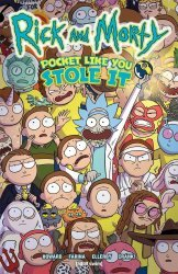 Oni Press's Rick and Morty: Pocket Like You Stole It TPB # 1