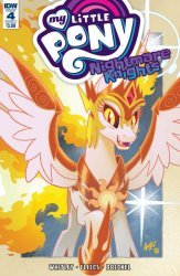 IDW Publishing's My Little Pony: Nightmare Knights Issue # 4