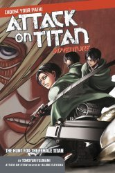 Kodansha Comics's Attack on Titan Adventure Soft Cover # 2