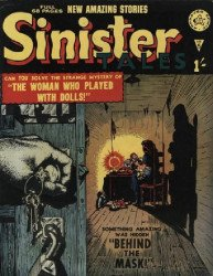 Alan Class & Company's Sinister Tales Issue # 5