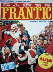 Marvel UK's Frantic Special winter