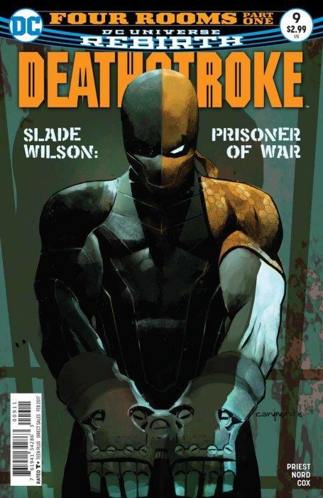 Deathstroke #1 Regular Cover DC Universe Rebirth Comics Slade Wilson Priest 9.4