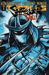 IDW Publishing's Teenage Mutant Ninja Turtles: Shredder in Hell Issue # 1idw limited